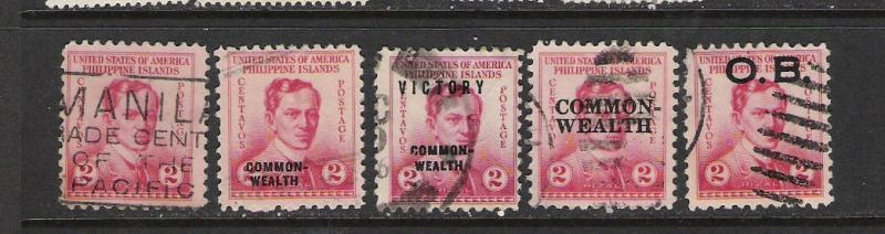 PHILLIPINES RIZAL SELECTION VFU 464C