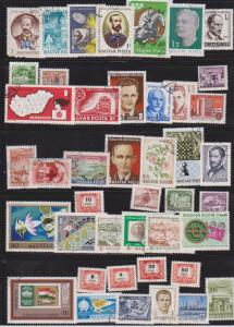 LOT OF DIFFERENT STAMPS OF HUNGARY USED (44) LOT#426