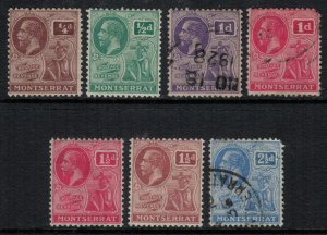 Montserrat #54-7,9-60,2*/u   CV $23.95