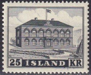 Iceland #273 MNH CV $200.00  (Z6009)