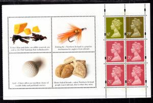 Great Britain Northern Ireland NMH214a Booklet Pane MNH VF