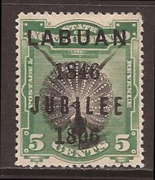 Labuan scott #69 m/hh stock #F0459