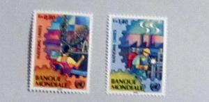 UN, Geneva - 173-74, MNH Set. World Bank. SCV - $3.00