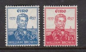 Ireland #161 - #162 NH Mint Set