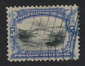 United States USED Scott Number 297  F-VF  #P1  - BARNEYS