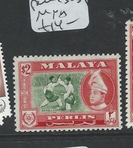 MALAYA PERLIS  (P1008B) $2.00 SG39  MNH