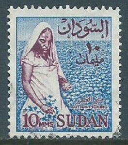 Sudan, Sc #147, 10m Used