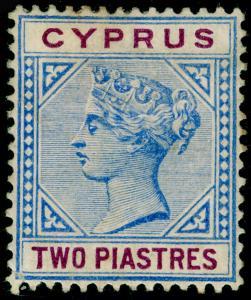 CYPRUS SG43, 2pi blue & purple, M MINT. Cat £16.