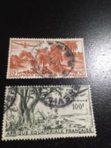 French Equatorial Africa sc C31,C32 u