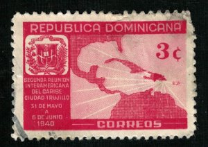 1940, Republica Dominicana, 3c (RT-262)