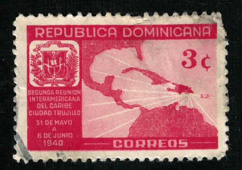 1940, Republica Dominicana, 3c (RT-262)