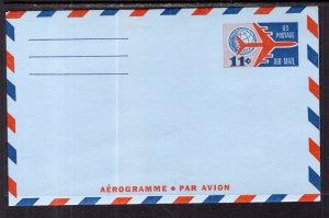 US UC35 Jet Postal Stationary Unused
