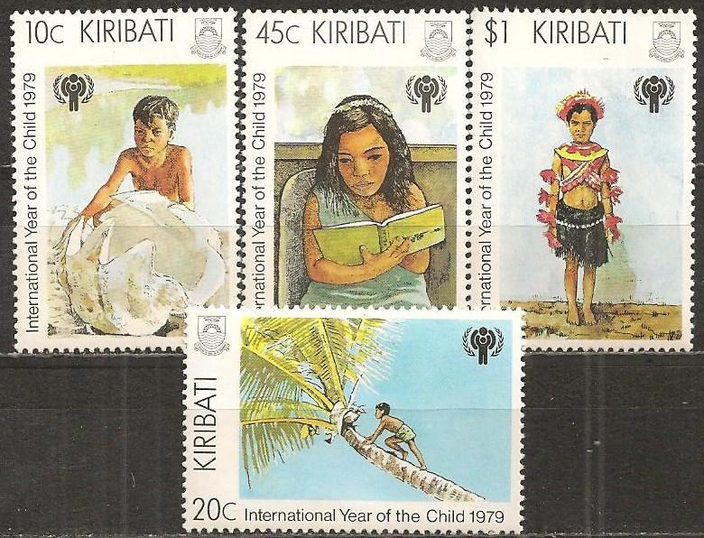 Kiribati #345-8 Mint Never Hinged F-VF (SU3794L)