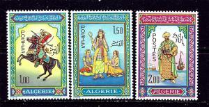 Algeria 362-64 MNH 1966 Miniatures