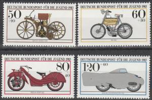 Germany #B605-8  MNH  CV $4.15 (S2365)