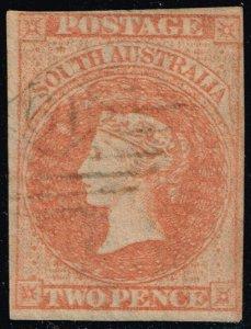 Australia-South Aust. #7 Queen Victoria; Used (2Stars)