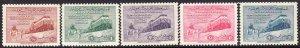 1952 Saudi Arabia Bedouins & Trains complete set MVVLH Sc# 187 / 191 CV: $162