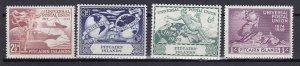 Pitcairn Islands 1949 Scott 13-16 UPU MNH