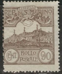 San Marino Scott 68 MH* 1923  stamp