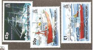 Br. Antarctic Terr  Scott #350-352  Mint NH  Scott CV $15.00
