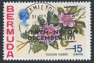 Bermuda #289 15¢ Flower - Passion Flower