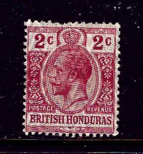 British Honduras 86 MH 1915 issue