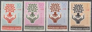 Haiti #B28-9, CB45-6  MNH VF (SU1909)