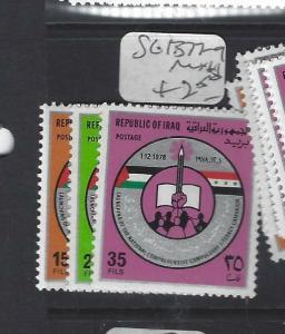 IRAQ (P3012B)  SG 1377-9   MNH