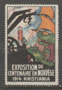 Cinderella revenue fiscal stamp 9-9-40 Norway?
