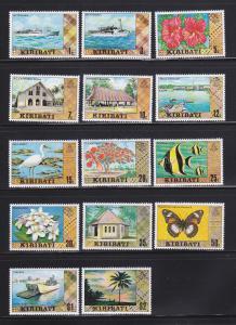 Kiribati 327-340 MNH Various