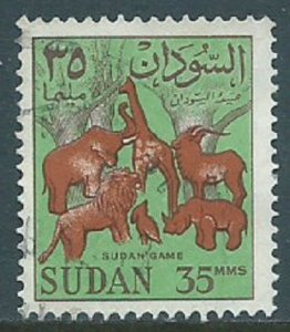 Sudan, Sc #151, 35m Used