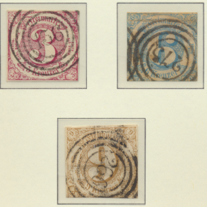 Thurn and Taxis Stamps Scott #53 To 55, Used - Free U.S. Shipping, Free World...