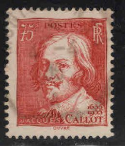 FRANCE Scott 305 Used 1935 Jacques Callot stamp