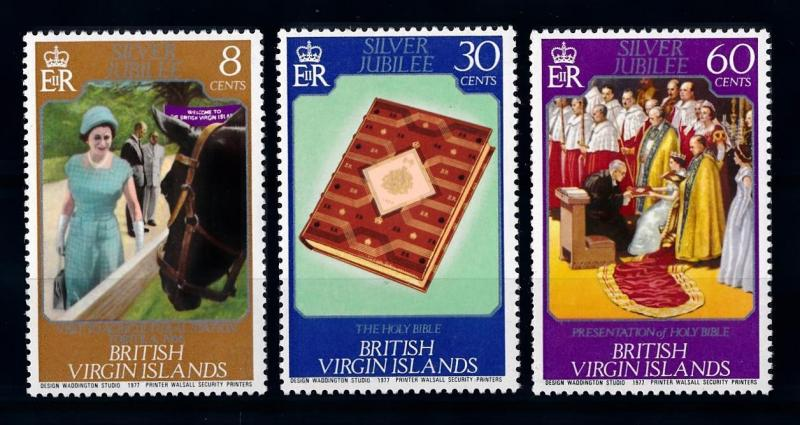 [71268] British Virgin Islands 1977 Queen Elizabeth Holy Bible Horse  MNH