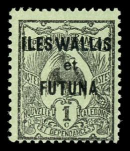 Wallis and Futuna Islands 1 Unused (MH)