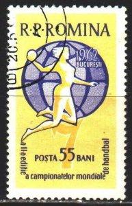 Romania. 1962. 2047. World handball championship. USED.