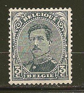 Belgium 110 King Albert I Mint Hinged