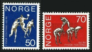 Norway 566-567,MNH.Michel 617-618. Central School of Gymnastics,Oslo,1970.