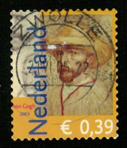 Van Gogh, €0.39, Nederland (T-9900)