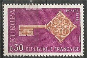 FRANCE, 1968 used 30c, Europa Scott 1209