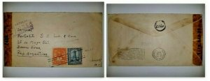 U) 1944, GUATEMALA, COFFEE EXPORT 1942, ARC OF POST OFFICE 1942, AIRMAIL, COVER,