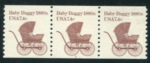 1902, 7.4 cent Baby Buggy, PNC5 #2, MNH