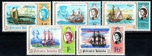 Pitcairn Islands #67-71 MNH  (X9703)