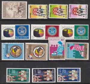 PHILIPPINES  ^^^^^OLDER  better MNH   sets   $$@dcc862phi2