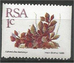SOUTH AFRICA, 1988, MNH 1c, Definitive, Succulents, Coil Scott 754
