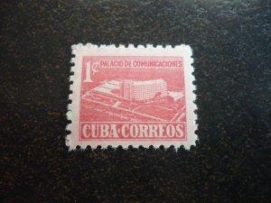 Stamps - Cuba - Scott#RA43 - Mint Hinged Stamp