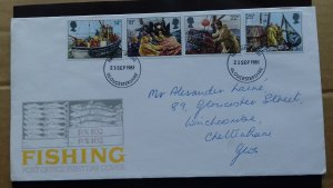 Great Britain 1981 The 100th Anniversary of the Royal National Mission of Fisher