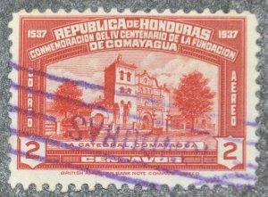 DYNAMITE Stamps: Honduras Scott #C85 – USED