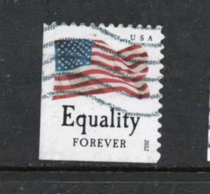 4643 Equality Overall Tag used BP single 18.5mm flag