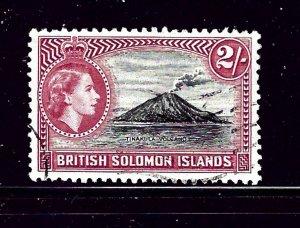 Solomon Is 101 Used 1956 volcano